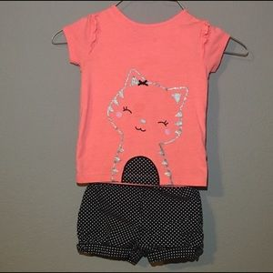 24 months Kitty 2 piece Outfit
